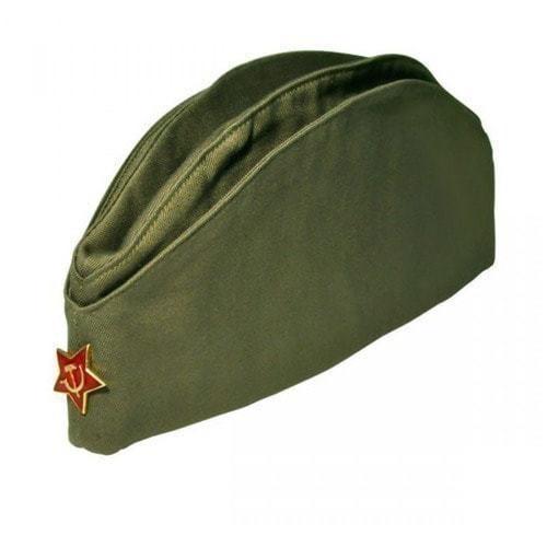 """Подарочный набор """"Общевоинские уставы"""" с пилоткой (фото, вид 1)"""