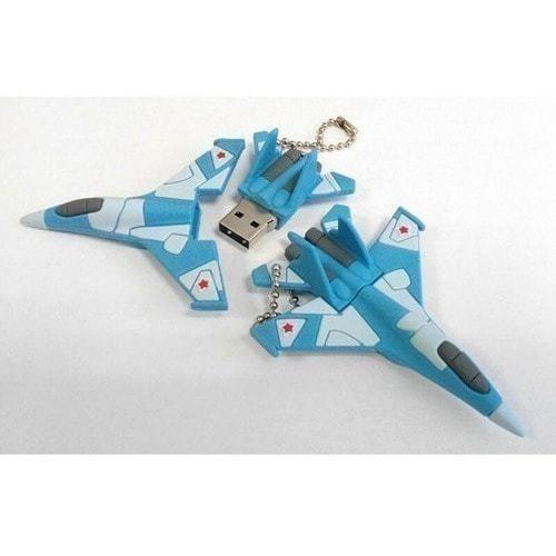 Подарочная флешка. Самолет истребитель (фото, вид 1)