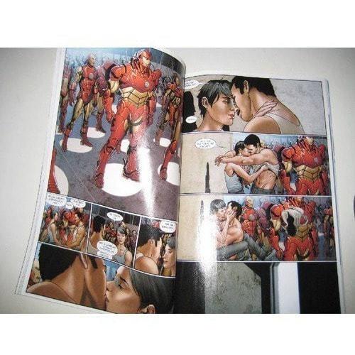 Книга комиксов. Железный человек. Враг государства (фото, вид 2)