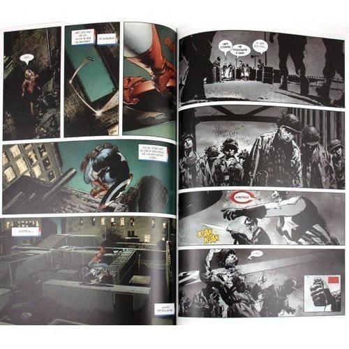 Книга комиксов. Капитан Америка. выпуск 2. Зимний солдат. (фото, вид 1)