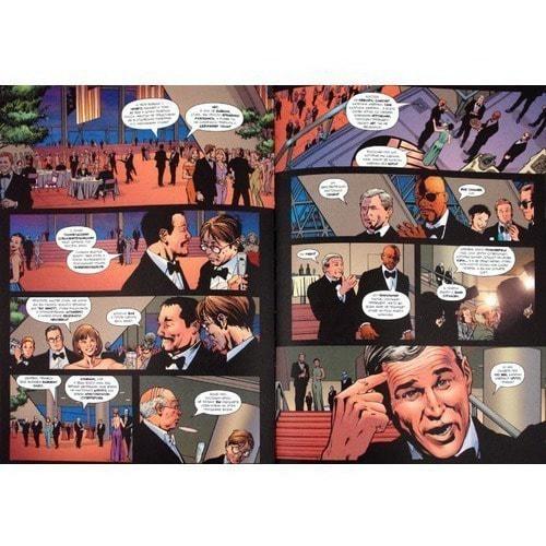 Книга комиксов. Люди будущего. Том 1. Суперсолдат (фото, вид 1)