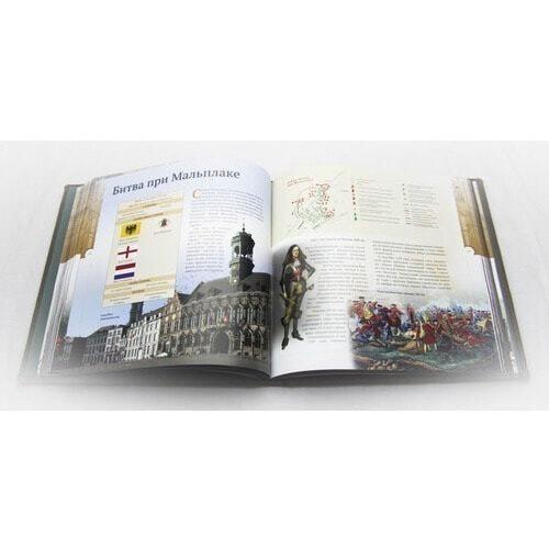 Подарочная книга в кожаном переплете . Великие битвы и сражения мировой истории (фото, вид 3)