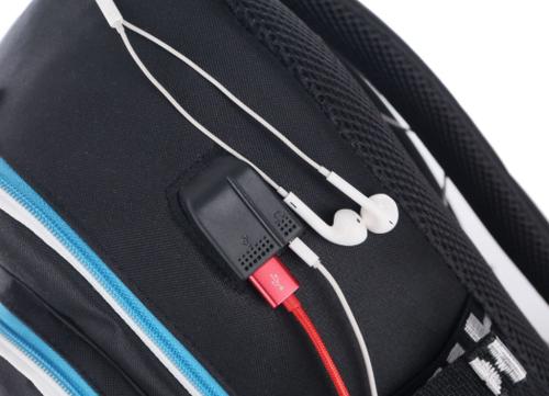 Рюкзак Fortnite с USB-портом для зарядки и разъемом для наушников (фото, вид 7)