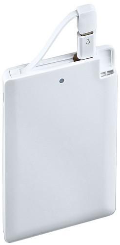 Подарочный внешний аккумулятор Powerbank. 100% Строитель (2500 mah) (фото, вид 4)
