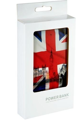 Подарочный внешний аккумулятор Powerbank. Британский флаг (2500 mah) (фото, вид 3)