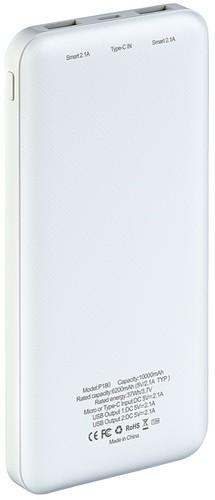 Подарочный внешний аккумулятор Powerbank. Георгиевская лента (10000 mah) (фото, вид 6)