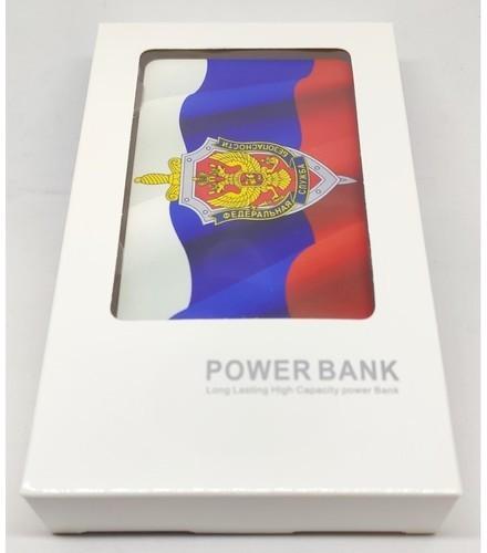 Подарочный внешний аккумулятор Powerbank. Герб ФСБ (2500 mah) (фото, вид 3)