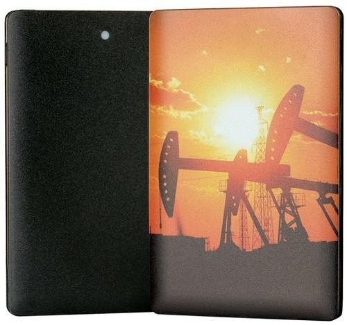 Подарочный внешний аккумулятор Powerbank. День нефтяника (2500 mah) (фото, вид 3)