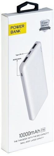 Подарочный внешний аккумулятор Powerbank. Купюра. Про запас (10000 mah) (фото, вид 6)