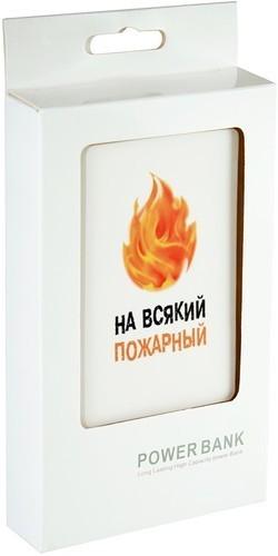 Подарочный внешний аккумулятор Powerbank. На всякий пожарный (2500 mah) (фото, вид 4)
