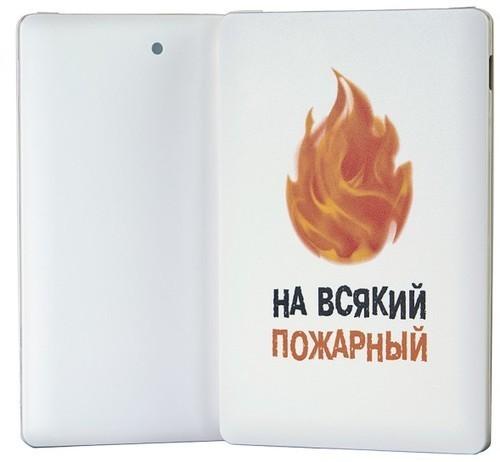 Подарочный внешний аккумулятор Powerbank. На всякий пожарный (2500 mah) (фото, вид 6)