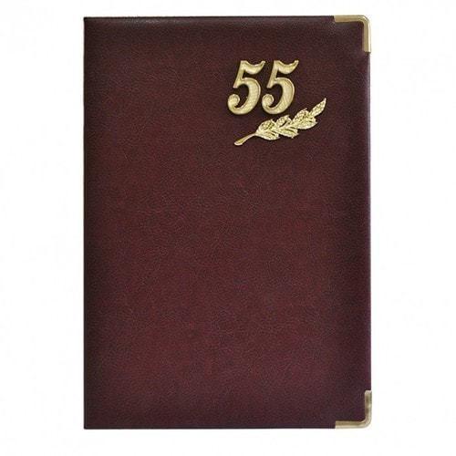 Папка юбилейная с адресом. 55 лет (фото, вид 1)