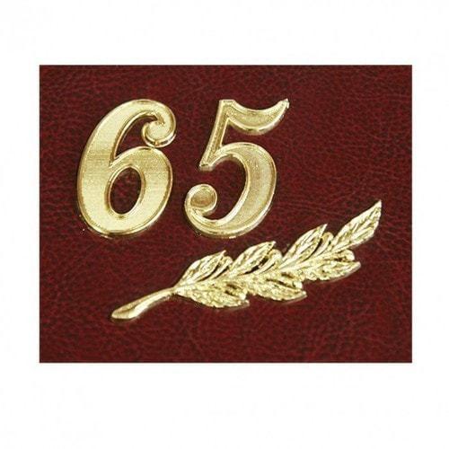 Папка юбилейная с адресом. 65 лет (фото, вид 3)
