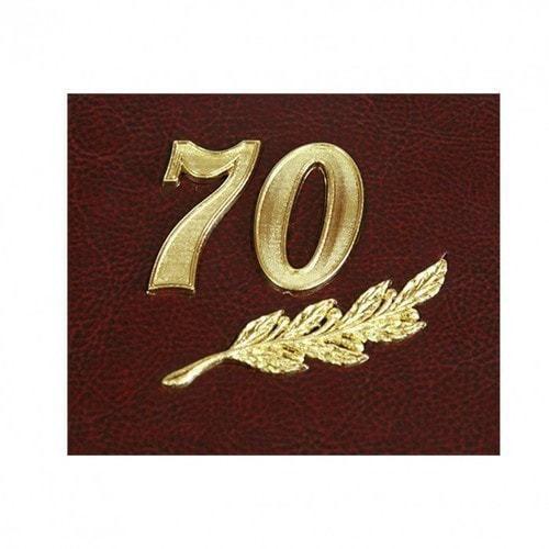 Папка юбилейная с адресом. 70 лет (фото, вид 3)