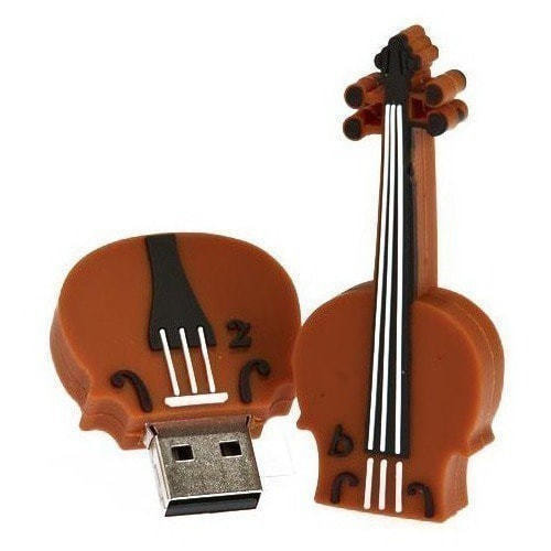 Подарочная флешка. Скрипка (фото, вид 2)