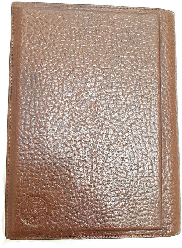 Подарочный ежедневник в кожаном переплете (А5). Royal | Тоскана (фото, вид 1)
