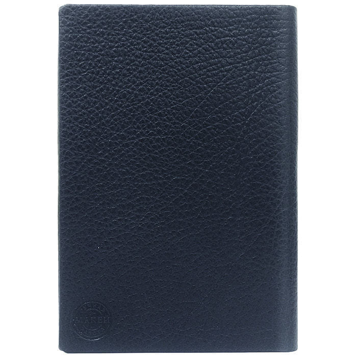 Подарочный ежедневник в кожаном переплете (А5). Classic | Синий (фото, вид 4)