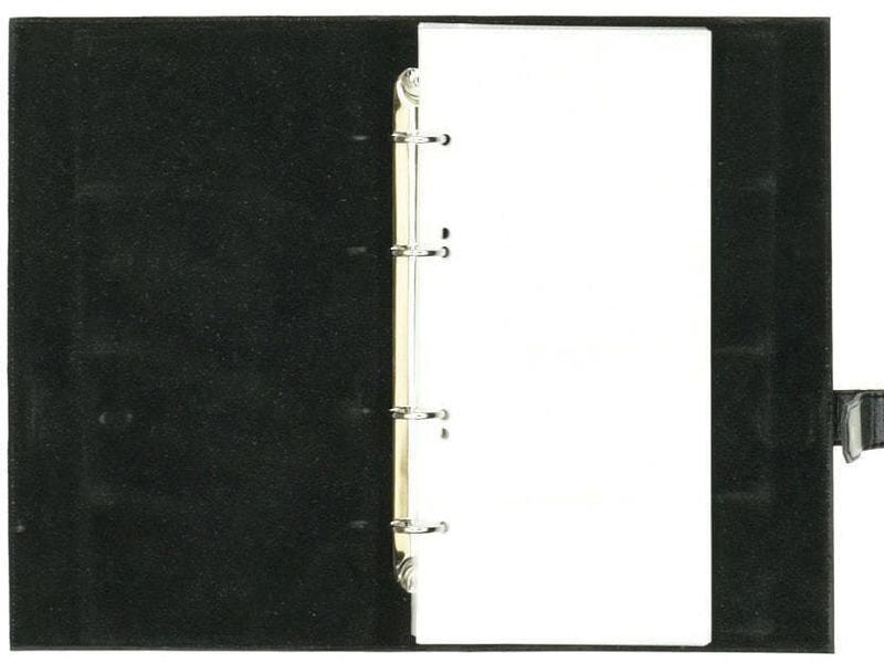 Настольная кожаная визитница. Герб вооруженных сил РФ | Чёрный (фото, вид 1)