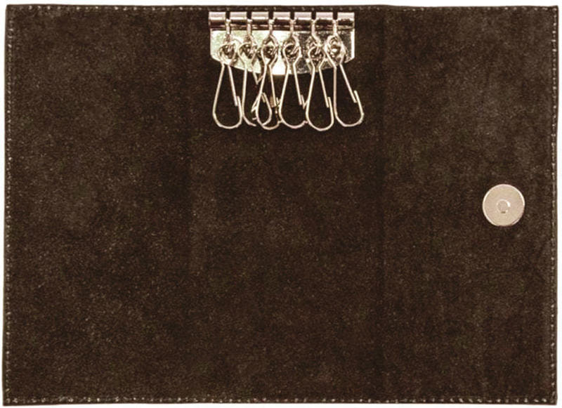 Кожаная ключница. Royal | Коричневый (фото, вид 1)