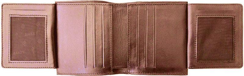 Кошелек из натуральной кожи. Royal | Коричневый (фото, вид 2)