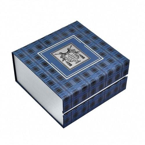Подарочный набор c подстаканником в футляре (3 предмета). Герб России (фото, вид 7)