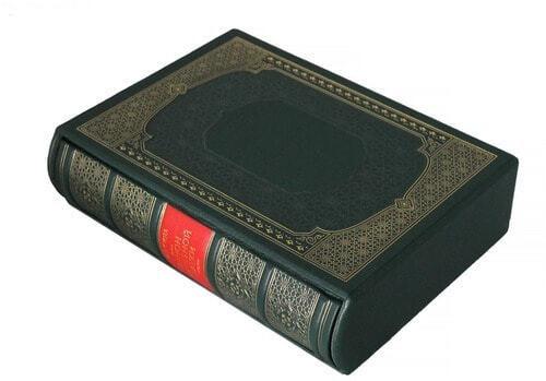 Подарочная книга в кожаном переплете. Абу Али Ибн Сина (Авиценна). Канон врачебной науки(в 6-ти томах) (фото, вид 3)