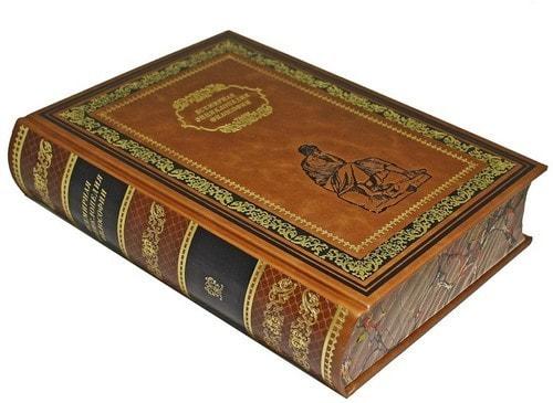 Подарочная книга в кожаном переплете. Всемирная энциклопедия: Философия. (фото, вид 1)