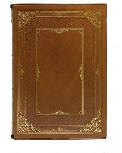 Подарочная книга в кожаном переплете. Первые основания металлургии или рудных дел (в футляре) (фото, вид 4)