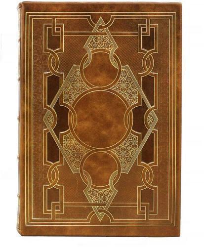 """Подарочная книга в кожаном переплете. """"Тайные общества, союзы и ордена"""" в 2-х томах (в футляре) (фото, вид 2)"""