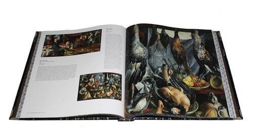 Книга в кожаном переплете и подарочном коробе. Шедевры музеев мира (фото, вид 2)