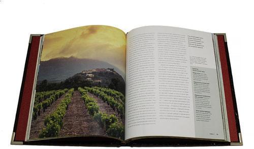 Подарочная книга в кожаном переплете. Джефорт Э. Вино (фото, вид 2)