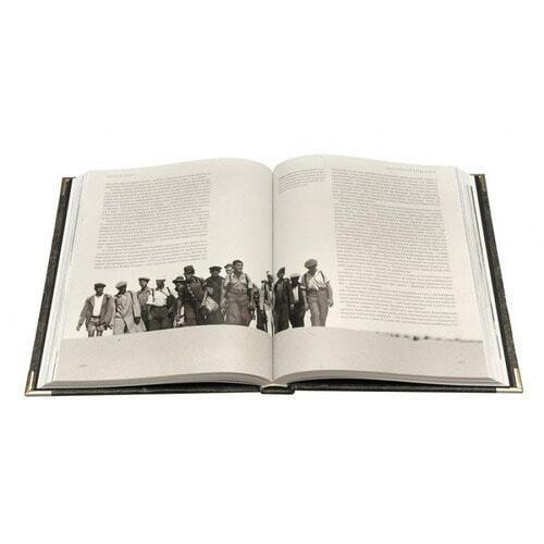 Подарочная книга в кожаном переплете. Евреи в двадцатом столетии (фото, вид 1)