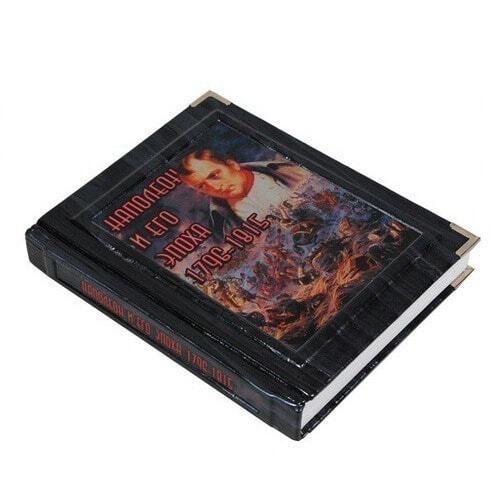 Подарочная книга в кожаном переплете. Наполеон и его эпоха (фото, вид 2)