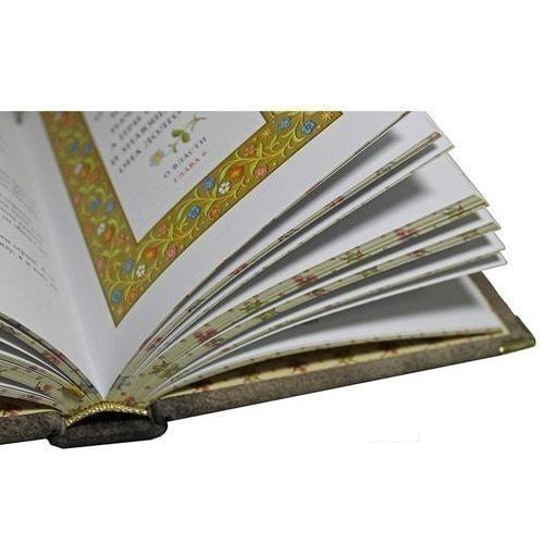 Подарочная книга в кожаном переплете. Притчи (фото, вид 1)