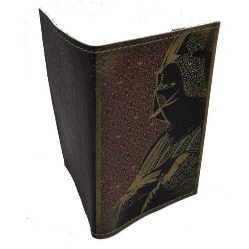 Кожаная обложка на паспорт. Дарт Вейдер (фото, вид 1)