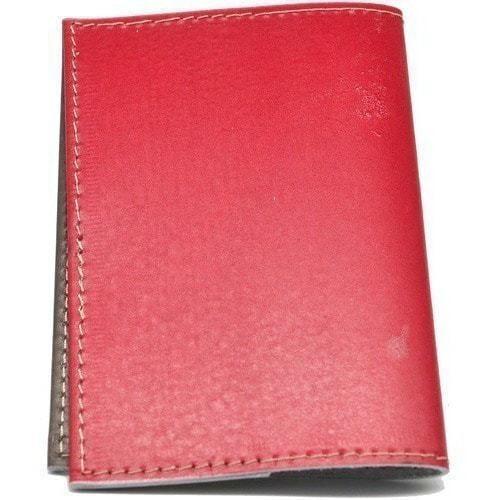 Кожаная обложка на паспорт. Серп и молот (фото, вид 3)