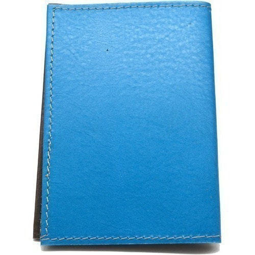 Кожаная обложка на паспорт. Домики у моря (фото, вид 3)