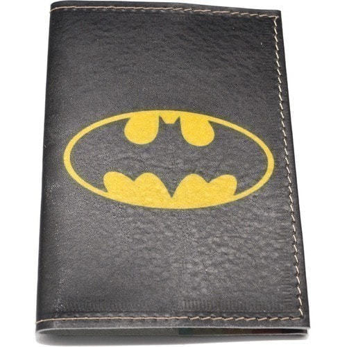Кожаная обложка на паспорт. Бэтмен (фото, вид 1)