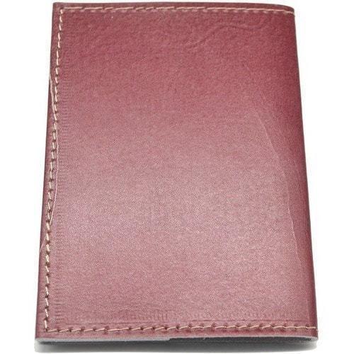 Кожаная обложка на паспорт. Флаг России (фото, вид 3)