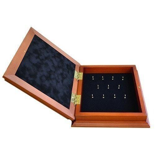 Деревянная ключница настенная. Знаки Зодиака. Телец (29 х 34 см) (фото, вид 1)