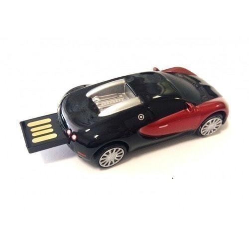 Подарочная металлическая флешка. Автомобиль Bugatti (фото, вид 1)