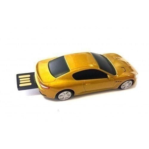 Подарочная металлическая флешка. Автомобиль Maserati (фото, вид 1)