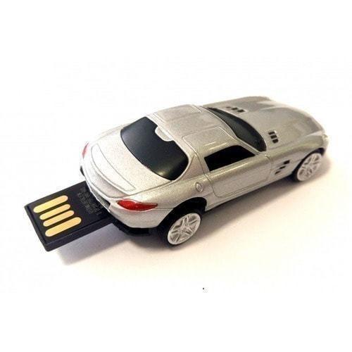 Подарочная металлическая флешка. Автомобиль Mercedes (фото, вид 1)