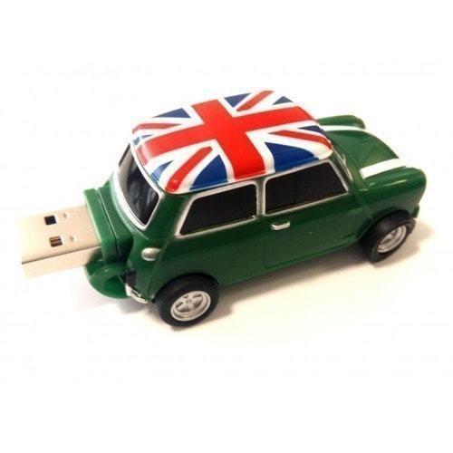 Подарочная флешка. Автомобиль Мини Купер (цвет зеленый) (фото, вид 2)