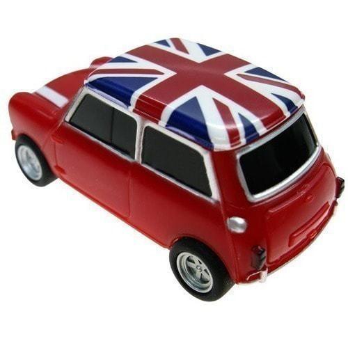 Подарочная флешка. Автомобиль Мини Купер (цвет красный) (фото, вид 2)
