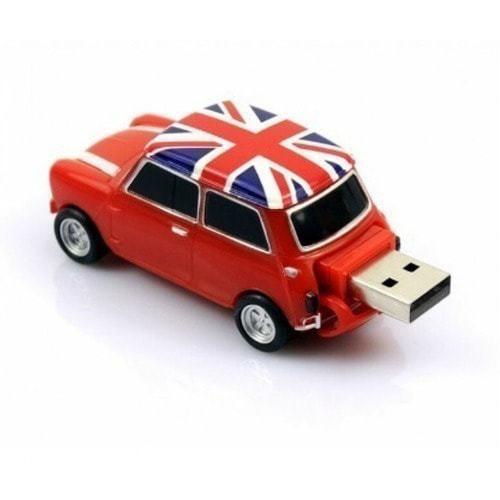 Подарочная флешка. Автомобиль Мини Купер (цвет красный) (фото, вид 3)