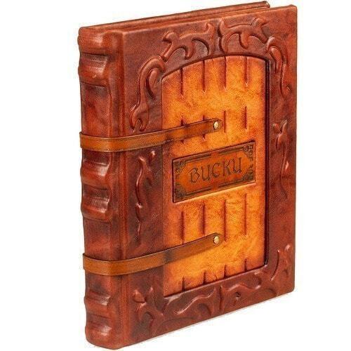 Подарочная книга в кожаном переплете. Виски. Полный всемирный путеводитель (фото, вид 1)