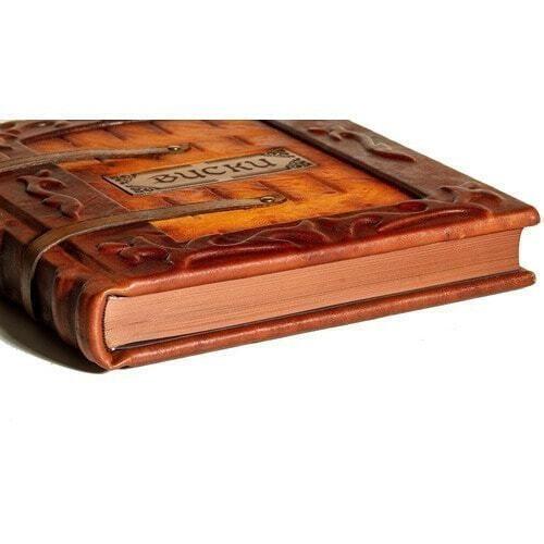 Подарочная книга в кожаном переплете. Виски. Полный всемирный путеводитель (фото, вид 2)