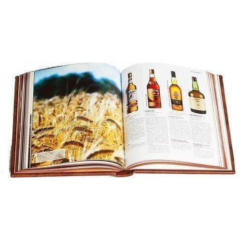 Подарочная книга в кожаном переплете. Виски. Полный всемирный путеводитель (фото, вид 4)