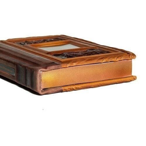 Подарочная книга в кожаном переплете. Никколо Макиавелли. Государь (фото, вид 2)